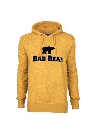 Bad Bear 20.02.12.032C70 Hoodıe Khakı Erkek Kapüşonlu Sweatshirt Haki